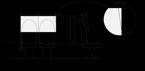Figure 7-2-3. Shoulder room measurement