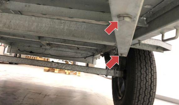 Light Trailer Drawbar And Kingpin Nzta Vehicle Portal